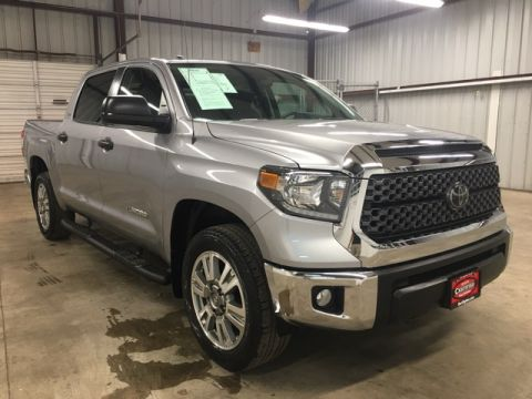 Pre-Owned 2018 Toyota Tundra SR5 RWD 4D CrewMax